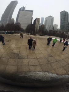 And of course, a visit to the Bean!