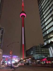 The beautiful CN Tower
