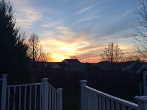Easter Sunset. 78/365