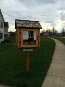 Free book exchange along my running path. 89/365