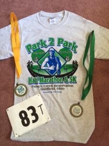 Half marathon number 17!