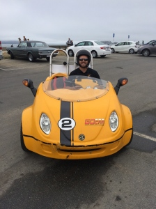 Our little GoCar to tour the city