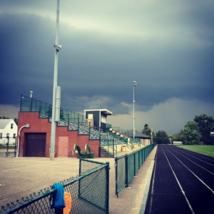 Storm clouds are coming!