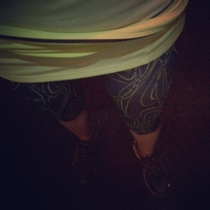 Party pants for night running!