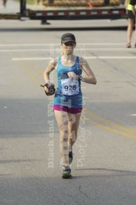 Making my way to the finish
