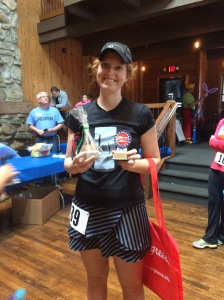 Mallory...Female overall winner!