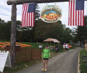 Post race visit to Pumpkin Village