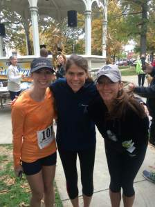 Post race with some speedy MCRR ladies.
