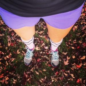 Shorts in November? I'll take it!