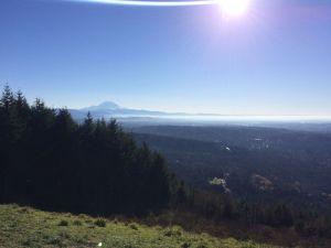 Looking towards Mt. Rainier