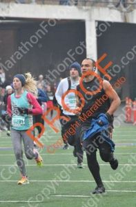 Coming into the finish