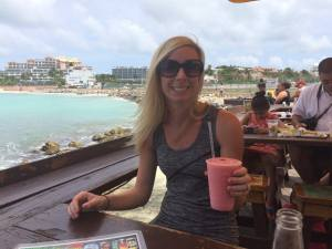 Final guavaberry rum punch of the trip!