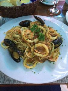 Almost as good as the Seafood Diablo from Thyme2 ;)