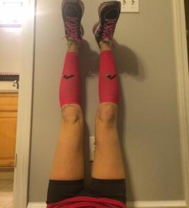Tired legs, stronger legs.